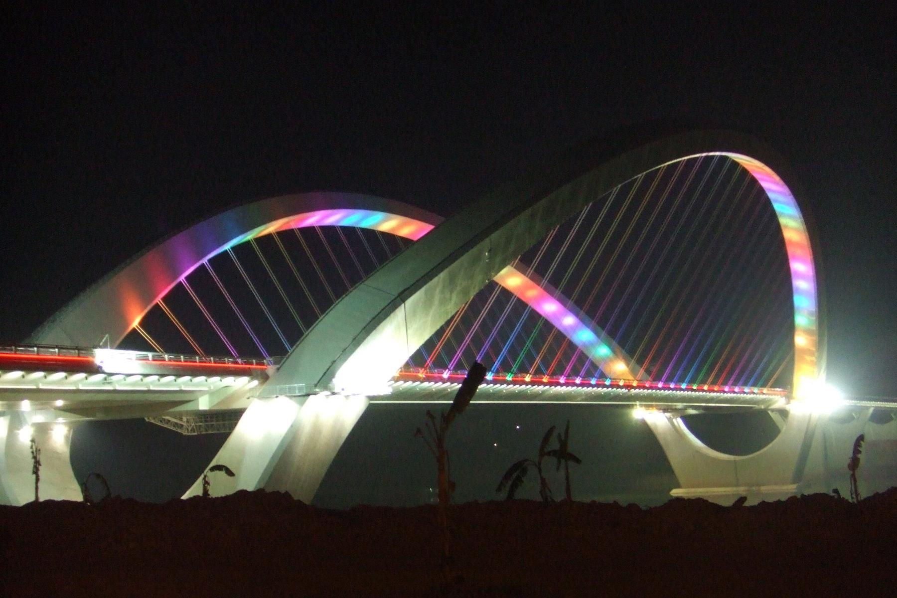 中国南明河浮玉桥
