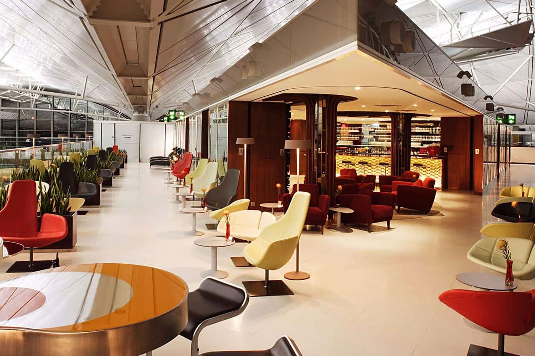 Virgin Atlantic First Class Lounge